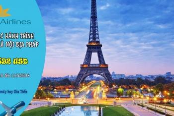 KHUYẾN MÃI ĐẾN PARIS VÀ NỘI ĐỊA PHÁP CÙNG VIETNAM AIRLINES
