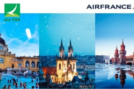 KHUYẾN MÃI MÙA ĐÔNG 2018 - DU LỊCH CHÂU ÂU CÙNG AIR FRANCE