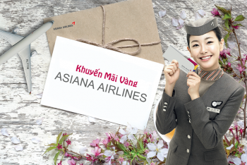 KHUYẾN MÃI VÀNG TỪ ASIANA AIRLINES